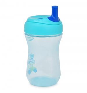 Чашка-поильник  Advanced Cup с трубочкой, 12 мес, цвет: синий/голубой Chicco