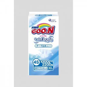Подгузники 4S (1-2,2 кг) 30 шт. GooN