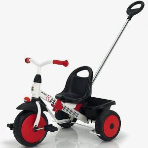 Трехколесный велосипед  Happytrike Racing, красно-черный Kettler. Цвет: красный/белый