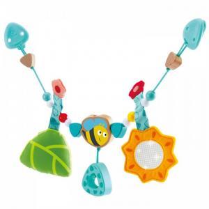 Подвесная игрушка  Цепочка для колясок с шмелем Hape