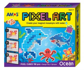 Аква мозаика из пикселей Океан 12/24 Amos