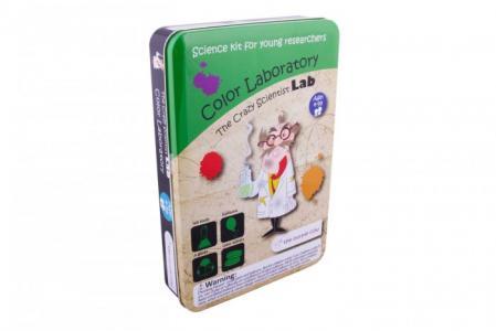 Лаборатория сумасшедшего ученого цвета The Purple Cow