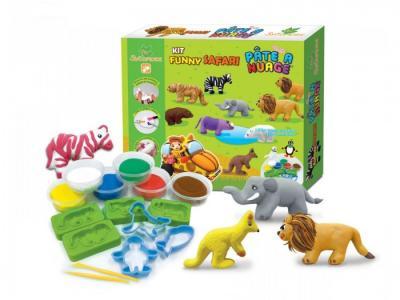 Игровой набор массы для лепки Funny Safari Angel Clay