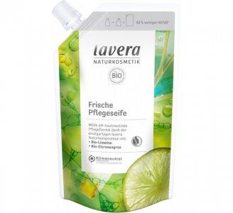 Средство для мытья рук Свежесть в мягкой упаковке Lavera