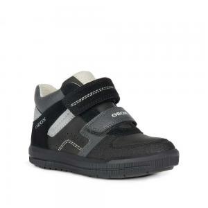 Кроссовки , цвет: черный/серый Geox