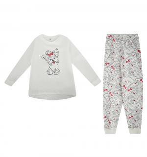 Пижама джемпер/брюки , цвет: мультиколор Белый Слон