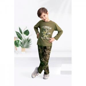 Комплект для мальчика AR-150 (лонгслив, брюки) Arnetta