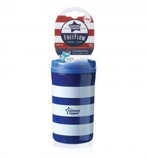 Чашка-непроливайка  Cool для кормления, с 18 мес, цвет: синий Tommee Tippee