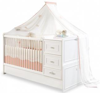 Кроватка-трансформер  Romantic 160х75 см Cilek