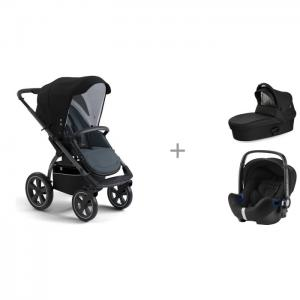 Прогулочная коляска  X-Move, люлька X-Pram light и автокресло Britax Roemer Baby-Safe2 i-size X-Lander