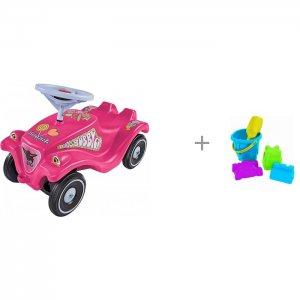 Каталка  Детская Bobby Car Classic Candy и Комплект для песка № 8 Нордпласт BIG