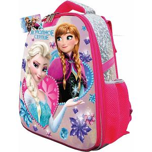 Рюкзак каркасный «Холодное сердце» CENTRUM. Цвет: серый