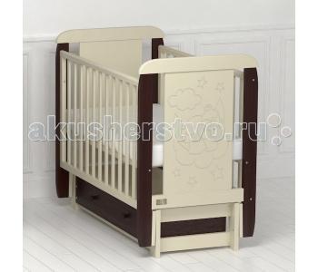 Детская кроватка Kitelli Orsetto продольный маятник (Kito)