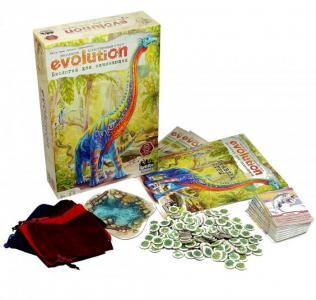 Настольная игра Эволюция Биология для начинающих Правильные игры