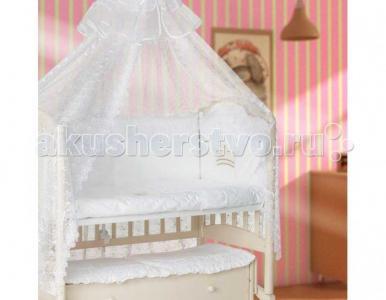 Комплект в кроватку  Кружевной (7 предметов) Мой Ангелок