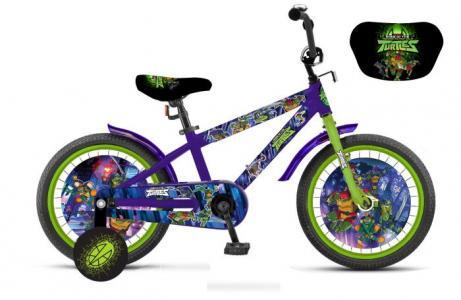 Велосипед двухколесный  Черепашки колеса 12 Turtles