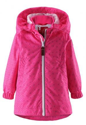 Куртка  Pinkish, цвет: розовый Reima