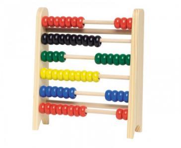 Деревянная игрушка  Счёты (60) 18 см WM324 Goki