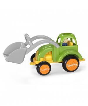 Функциональная машинка Трактор с ковшом, 28 см Fun Color Vikingtoys