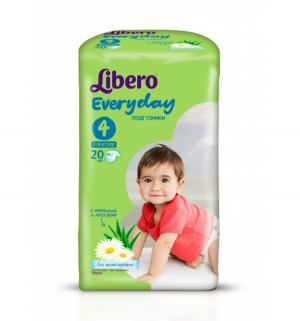 Подгузники  Everyday (7-18 кг) 20 шт. Libero