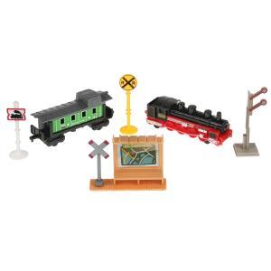 Набор  железнодорожная техника (грузовая) 7.5 см Технопарк