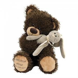 Мягкая игрушка  Медвежонок Чиба с зайцем Fancy