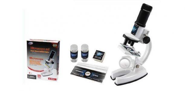 Набор для опытов с микроскопом (25 предметов) Eastcolight