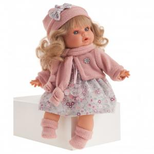 Кукла Марисела в розовом озвученная 30 см Munecas Antonio Juan