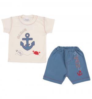 Комплект джемпер/брюки  Kapitan Florek, цвет: бежевый Ewa