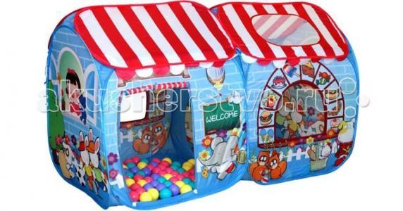 Игровая палатка Детский магазин СВН-15 + 100 шаров BabyOne