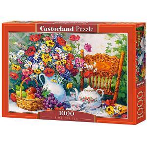 Пазл  Время для чаепития 1000 деталей Castorland