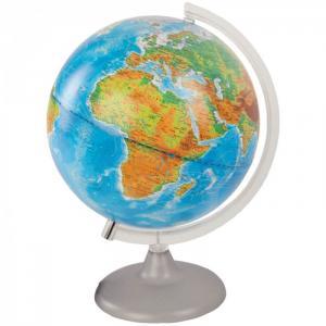 Глобус физико-политический 25 см с подсветкой Глобусный мир