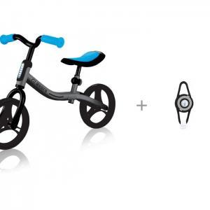 Беговел  Go Bike c фонарем V-052 велосипедным с лазерной подсветкой Яркий луч Globber