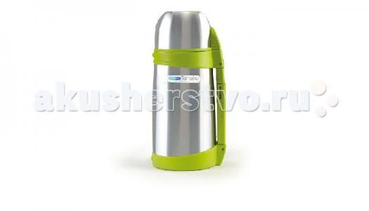 Термос  с клапаном для раздачи жидкости и ручкой 1000 мл Bebe Due