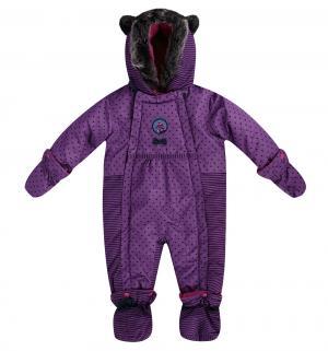 Комбинезон , цвет: фиолетовый Peluche&Tartine