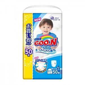 Подгузники-трусики XL (12-20 кг) для мальчика 50 шт. GooN