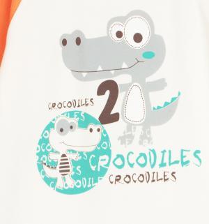 Комбинезон  Croc, цвет: бежевый/оранжевый Aga