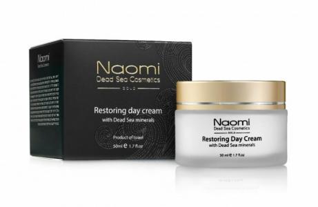 Восстанавливающий дневной крем с минералами Мертвого моря 50 мл Naomi