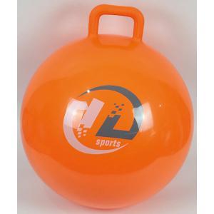 Мяч-попрыгун  с ручкой, 45см, оранжевый Z-Sports