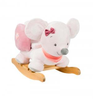 Качалка  Adele & Valentine Мышка, цвет: розовый Nattou