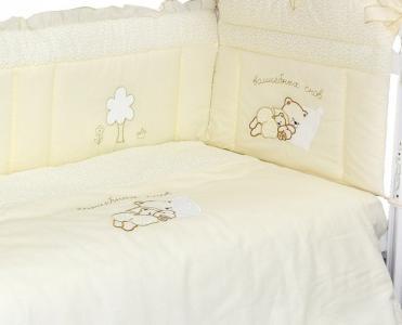 Комплект в кроватку  Волшебных снов (6 предметов) Labeille