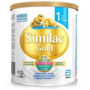 Молочная смесь  Gold 1 0-6 месяцев, 400 г Similac