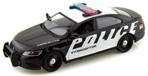 Модель автомобиля Ford Police Interceptor Concept (Масштаб: 1:24) MotorMax