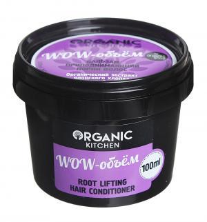 Бальзам  приподнимающий корни Wow-объем, 100 мл Organic Shop