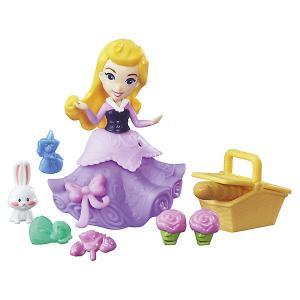 Игровой набор с мини-куклой Disney Princess Маленькое королевство Аврора Hasbro
