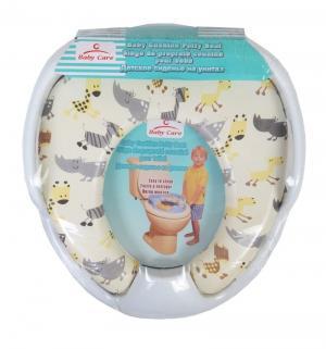 Сиденье для унитаза  РМ2399, цвет: белый Baby Care
