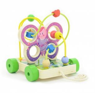 Деревянная игрушка  Лабиринт Бабочка малая Мир деревянных игрушек