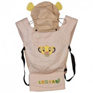 Рюкзак-кенгуру  Disney baby Король Лев с вышивкой Polini