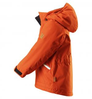 Куртка  Tec Nappaa, цвет: оранжевый Reima