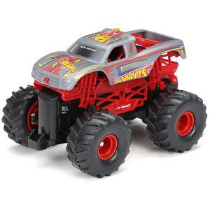 Радиоуправляемая машинка  Monster Truck 1:43, красная New Bright. Цвет: красный